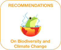 Recommendations Climate Change